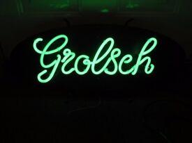 Grolsch Light Up Sign