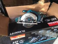 Makita circular saw and 4amp battery