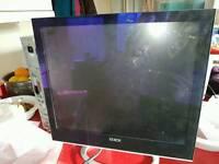"""Xerox 19"""" flat monitor,"""