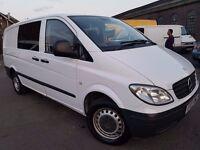 Mercedes-Benz Vito 2.1 109CDI Dualiner Basic High Roof Long Panel Van 5dr 6 Seater