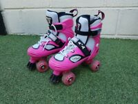 Girls size 4-7 adjustable skates