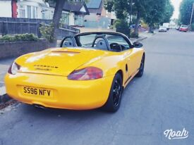 Porsche Boxster 1998 2.5 986 Convertible 2 door