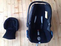 Maxi-Cosi Cabriofix Baby Car Seat - Black