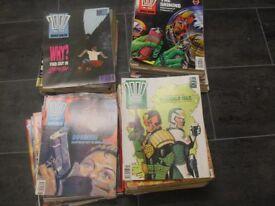 bundle of 2000 AD. comics
