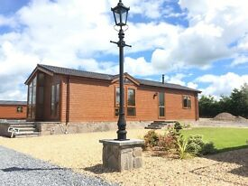 Brand new 2 bedroom luxury lodge situated at Lochmanor estate dunning