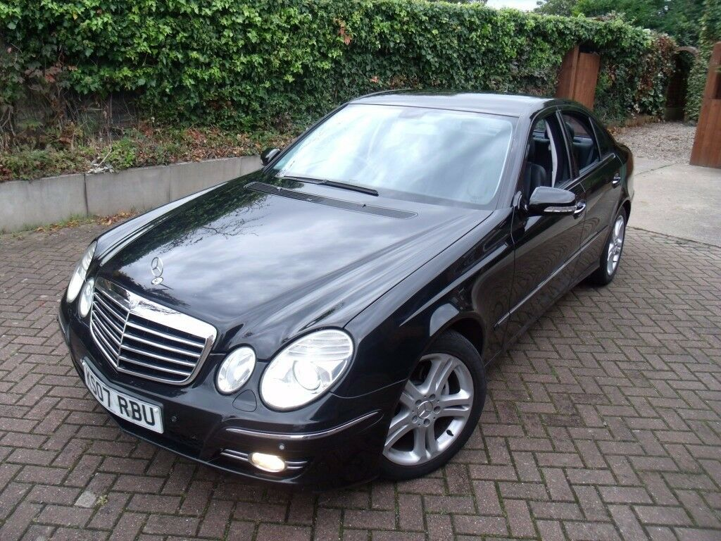 2007 '07 Mercedes-Benz E280 CDI Avantgarde 3.0 V6 Diesel 7G Auto 4Dr Saloon. VGC. MOT, Big History.