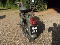 GILERA 305CC EX ITALIAN POLICE MOTORCYCLE 1962 REG. ALL IMPORT PAPERS PRESENT