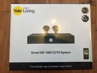 Yale smart HD 1080 - 2 camera CCTV KIT