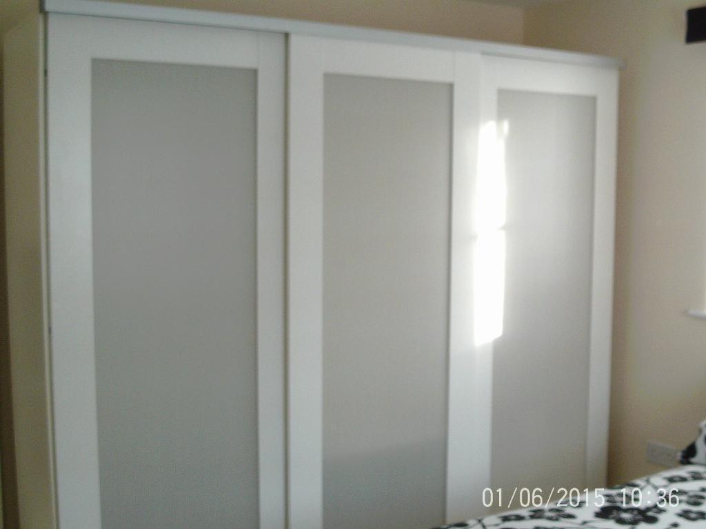 Ikea Elga 3 Door Wardrobe Purchase Sale And Exchange Ads