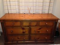 Chest of drawers 4x3 pine