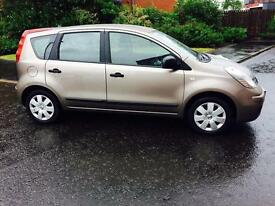 1 YEAR MOT++NISSAN NOTE 1.6 VISIA++EXCELLENT CONDITION
