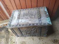 Coal scuttle, coal box, wood burning stove box
