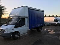 Ford transit 115t350 2006(56) curtain sider with barn doors