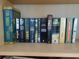 Selection of Clive Barker books