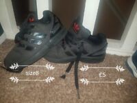 selection of boys shoes prices and sizes on pics