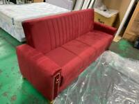Brand NEW solid fabric Bordeaux sofa bed