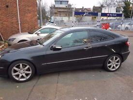 Mercedes C class 220 cdi Se auto 55plate