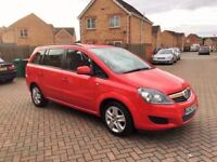 2013 VAUXHALL ZAFIRA 1.6 EXCLUSIV, MOT 10 MONTHS, ONE PREVIOUS OWNER, LOW MILEAGE