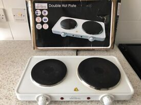 Fine Elements Double hot plate with box.