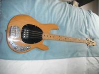 Bass guitar for sale music man copy
