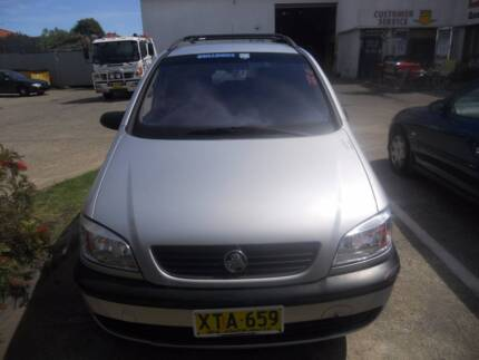 HOLDEN ZAFIRA VAN 2001 WRECKING VEHICLE S/N V6494
