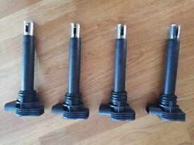 4 Genuine Bosch ignition coils for 2.0 VAG Audi Skoda Seat VW