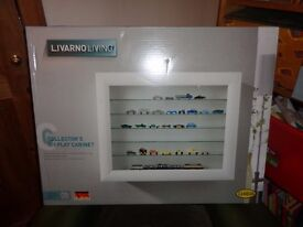 Collectors glass display cabinet brand new