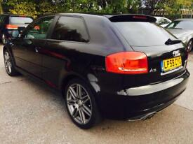 Audi A3 2.0 TDI Black Edition 3dr NEW MOT*CAMBELT DONE*FULL S/H PX WELCOME