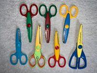 7 x Craft Scissors IP1