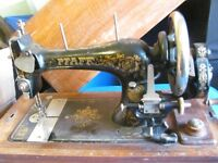 Pfaff Model K Hand Operated Sewing Machine. Vintage/Antique