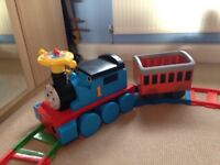 Thomas the Tank sit and ride train