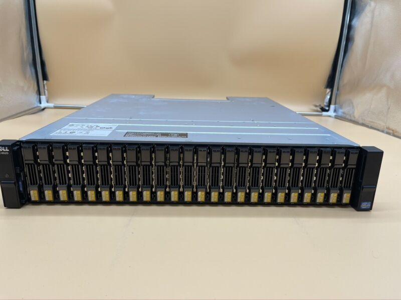 Dell Compellent SC4020 24x 1.2TB SAS HDD 2x 10G-iSCSI-2 Controllers Array SAN