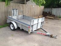 FOR RENT: 5'x8' utility trailer