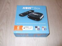 NOW TV BOX - BRAND NEW – SEALED WITH 6 MONTH ENTERTAINMENT PASS