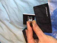 100 % genuine Emporio Armani Male ring size Q