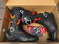 Alpinestars SMX-6 V2 Drystar (waterproof) Motorcycle Boots