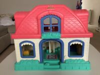 Little People interactive dolls house