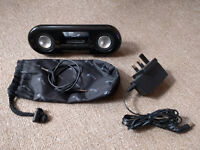 Genius i200 portable stereo system