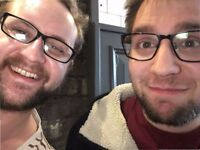 2 young professional guys looking for a 2 bed flat to share from Jan