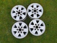 """16"""" Mitsubishi Shogun Di-D MK3 2004 - Set of 4 Alloy Wheels"""