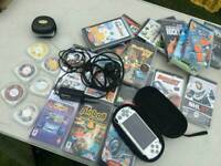 Psp with all games and extras