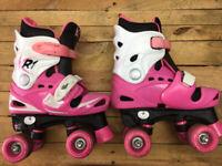 Roller Boots / Inline Skates- Adjustable Size 13 - 1 - 2 - 3