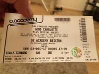 2× Good Charlotte Tickets