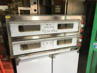 """NEW 12 X 13"""" PIZZA OVEN CATERING COMMERCIAL KITCHEN EQUIPMENT CAFE KEBAB CHICKEN RESTAURANT SHOP"""