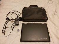 "11.6"" LENOVO YOGA 300 NETBOOK INTEL CELERON 32GB WITH ADDITIONAL 128GB SD CARD AND BAG"