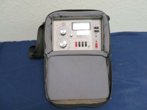 Sadelco 7450-B Signal Level Meter with Padded Case