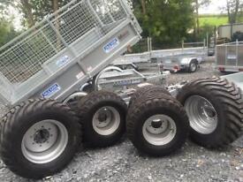 Agri trailer wheels farm trailer silage trailer cattle trailer wheels