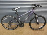 KOBE GRIND LIGHTWEIGHT ALUMINIUM MOUNTAIN BIKE IN EXCELLENT ALMOST NEW CONDITION, FRONT SUSPENSION