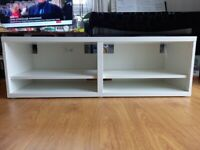 IKEA Besta TV stand and unit (white)
