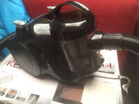 bagless cylinder vacuum cleaner, with hose brush etc. tested/checked returns/exdisplay